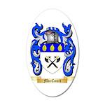 MacCourt 35x21 Oval Wall Decal