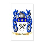 MacCourt 35x21 Wall Decal