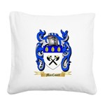 MacCourt Square Canvas Pillow