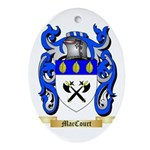 MacCourt Ornament (Oval)