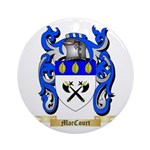 MacCourt Ornament (Round)