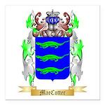 MacCotter Square Car Magnet 3