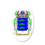 MacCotter 20x12 Oval Wall Decal