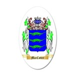 MacCotter 35x21 Oval Wall Decal