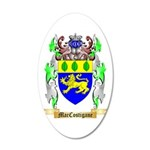MacCostigane 20x12 Oval Wall Decal