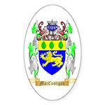 MacCostigan Sticker (Oval 10 pk)