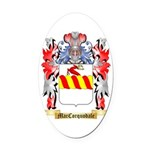 MacCorquodale Oval Car Magnet