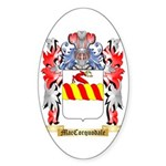 MacCorquodale Sticker (Oval)