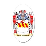 MacCorquodale 35x21 Oval Wall Decal