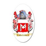 MacCorkle 20x12 Oval Wall Decal