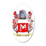 MacCorkle 35x21 Oval Wall Decal
