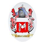 MacCorkle Ornament (Oval)