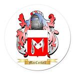 MacCorkell Round Car Magnet