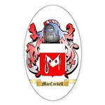 MacCorkell Sticker (Oval 10 pk)