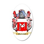 MacCorkell 35x21 Oval Wall Decal