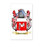 MacCorkell 35x21 Wall Decal
