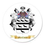 MacCooey Round Car Magnet