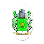 MacConville Oval Car Magnet