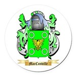 MacConville Round Car Magnet