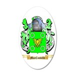MacConville 35x21 Oval Wall Decal