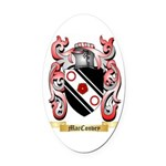 MacConvey Oval Car Magnet