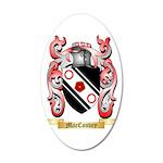 MacConvey 35x21 Oval Wall Decal