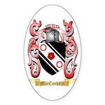 MacConvery Sticker (Oval 10 pk)