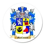 MacConnell Round Car Magnet