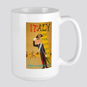 Leaning Soldier of Pisa Large Mug