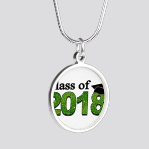 Class of 2018 Glitter Necklaces