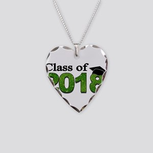 Class of 2018 Glitter Necklace