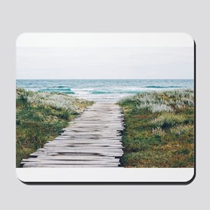 Beach Dock Over the Dunes Mousepad