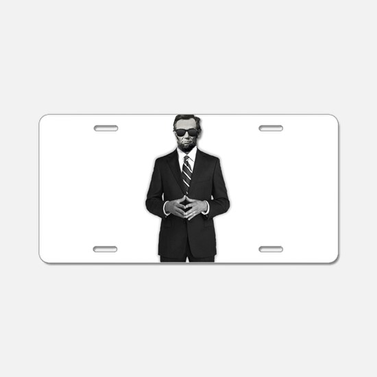 Lincoln Serious Business Aluminum License Plate