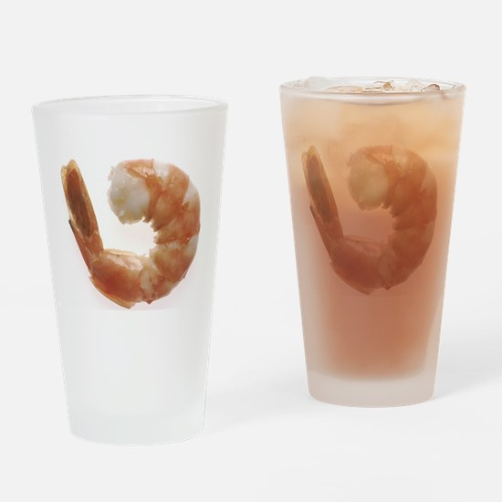 Cooked Shrimp Drinking Glass