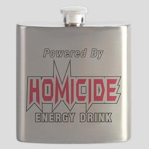 Homicide Energy Drink Flask