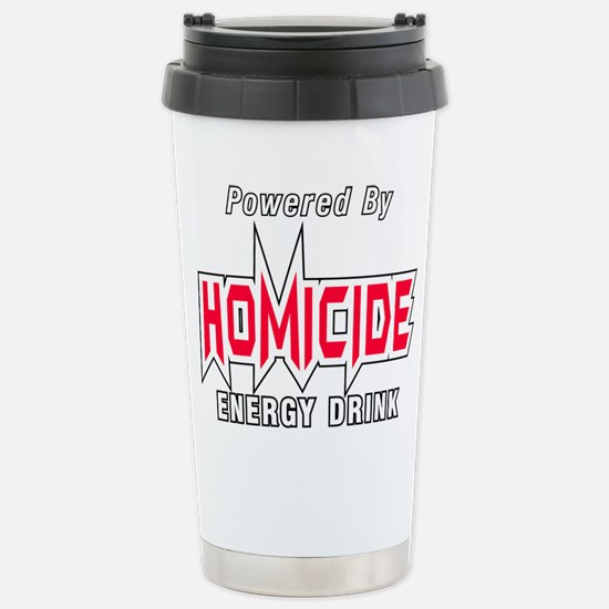 Homicide Energy Drink Travel Mug