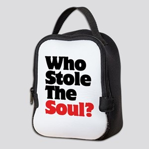 Who Stole The Soul? Neoprene Lunch Bag