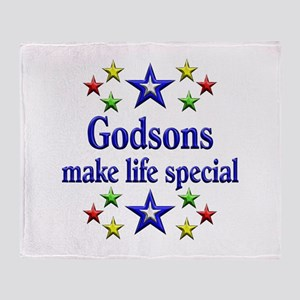Godsons are Special Throw Blanket