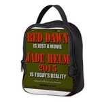 Reddawnjadehelm Neoprene Lunch Bag