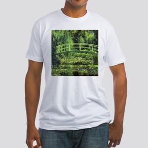 White Water Lilies by Claude Mone T-Shirt
