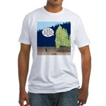 Golden Larches Fitted T-Shirt