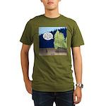 Golden Larches Organic Men's T-Shirt (dark)