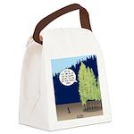 Golden Larches Canvas Lunch Bag