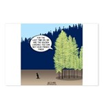 Golden Larches Postcards (Package of 8)