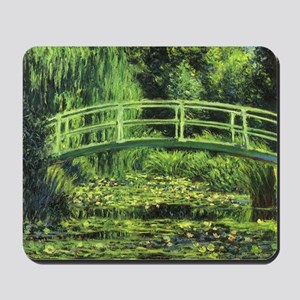 White Water Lilies by Claude Monet Mousepad