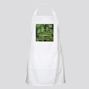 White Water Lilies by Claude Monet Apron