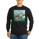 Timmys Cow Long Sleeve Dark T-Shirt