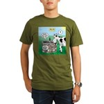Timmys Cow Organic Men's T-Shirt (dark)