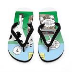 Timmys Cow Flip Flops