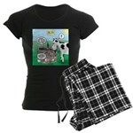 Timmys Cow Women's Dark Pajamas
